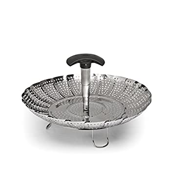 OXO Good Grips Stainless Steel Steamer With Extendable Handle