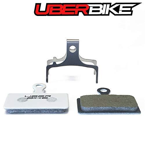 Uberbike Shimano XTR M9000 - M9020 Trail - XT M8000 - SLX M7000 Deore M6000 XL (material adicional) - Pastillas de freno de disco Race-Matrix (2 pares)