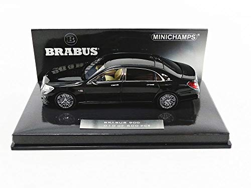 Minichamps 437035420 - Maybach 900 Auf Basis Mercedes Benz Maybach S 600 2016 Black - Escala 1/43 - Coche en Miniatura