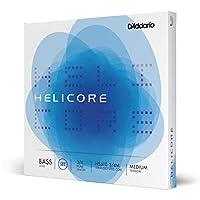 D'Addario ダダリオ ウッドベース(コントラバス)弦 Helicore 3/4スケール ソロ弦 Set Medium HS610 【国内正規品】