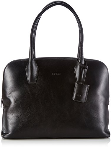 BREE Chicago 2, black, double shoulder bag 298900002 Damen Henkeltaschen 40x13x30 cm (B x H x T), Schwarz (black 900)