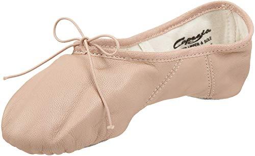 Capezio Women's Juliet Ballet Shoe, Rose Quartz, 7.5 M US