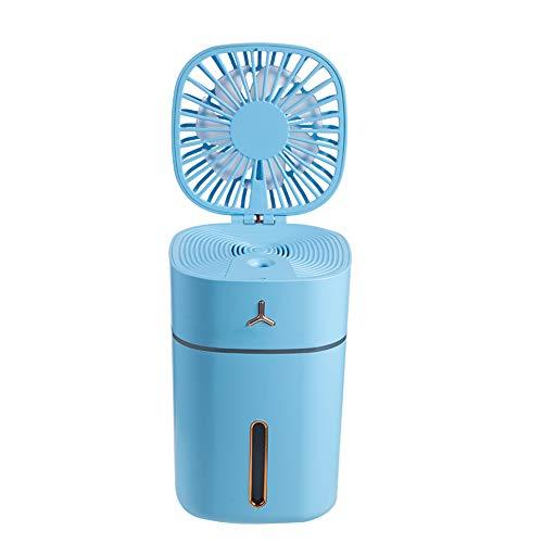 Luchtbevochtiger voor Slaapkamer Tweede Generatie - Ultrasone Cool Mist Top Fill Luchtbevochtigers Fluisterstil, Automatische Uitschakeling, Eenvoudig Schoon Te Maken,Blue