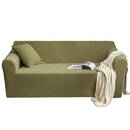 Met armleuningen, bankovertrek, voor woonkamer, slaapkamer, gebreid, bankovertrek, elastisch, voor de huid, beschermhoes voor meubels, antislip, woonkamer.