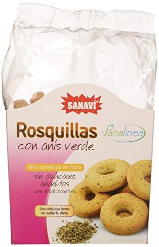 Sanavi Rosquillas Con Anis Verde 150 G 400 g