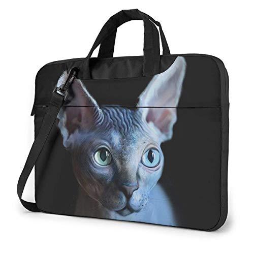 Cool Sphynx Cat 15.6 in Laptop Bag Computer Protective Cover Handbag Shoulder Bag