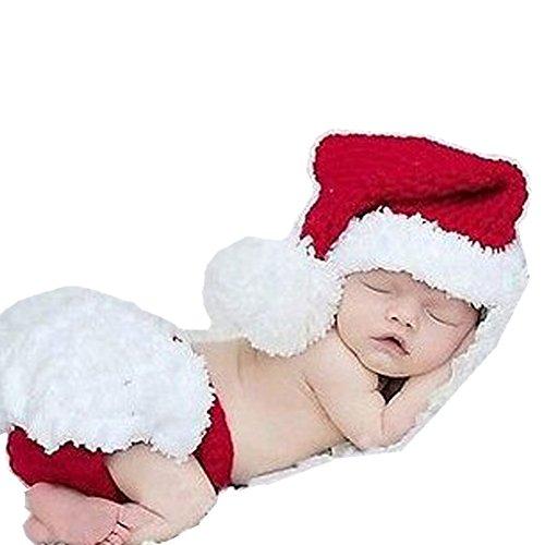 Handmade neonato Baby Girl Boy crochet Knit cappello pantaloni fotografia puntelli vestiti costume