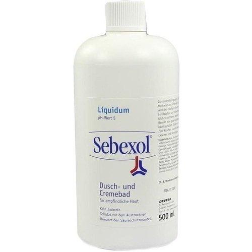 Sebexol Liquidum Dusch- und Cremebad, 500 ml
