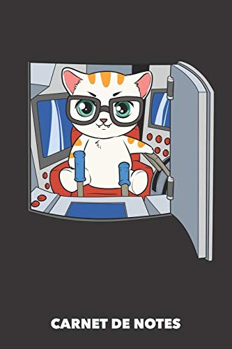 Carnet de Notes: Commande à distance A5 pointillé / grille de points - 120 pages pour propriétaires de chats
