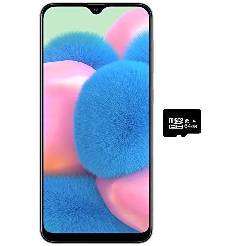 Samsung Galaxy A30s 64GB Dual Sim 4GB Ram, Triple Camara 25+8+5Mpx. Libre de Fabrica, Blanco