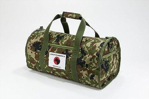Singh, Godzilla JAPAN VS GODZILLA defense camouflage drum bag