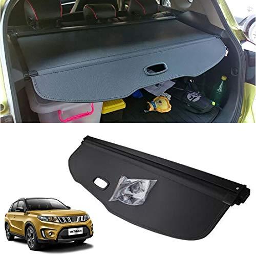 CMHZJ Retrattile Auto Bagagli Protezione Coperchio per Suzuki Vitara 2016-2020, Nero Portabagagli Posteriore Tronco Privacy Cappelliera, Auto Accessori Interni