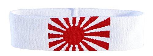 Flaggenfritze® Stirnband mit Japan Kriegsflagge