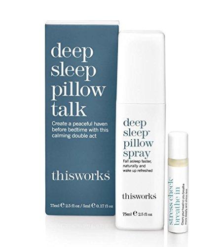 This Works Pillow Talk Geschenkset 75ml Pillow Spray + 5ml Stress Less