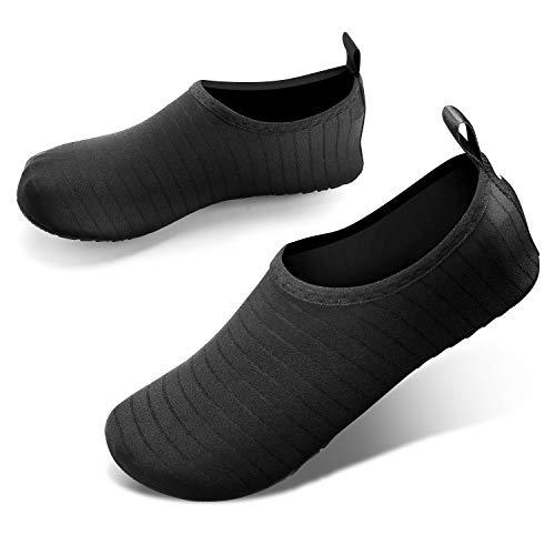JOTO Water Shoes for Women Men Kids, Barefoot Quick-Dry Aqua Water Socks Slip-on Swim Beach Shoes for Snorkeling Surfing Kayaking Beach Walking Yoga