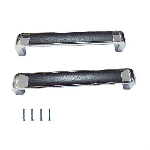 2 Packs Metal Cabinet Hardware Door Bar Pull Handle Set for Furniture Closet Drawer Keuken Matte zwarte handvatten met Schroeven (Color : 5.4in (137mm))