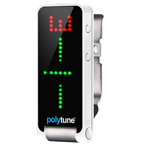 TC Electronic 966111001 PolyTune Clip Tuner