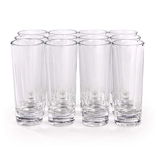 Vasos de chupito grandes - Juego de 12   Party Vodka, Spirit,...
