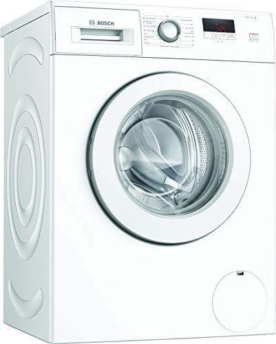 Bosch WAJ28022 Serie 2 Waschmaschine Frontlader / A+++ / 157 kWh/Jahr / 1400 UpM / 7 kg / Weiß / Nachlegefunktion / EcoSilence Drive™