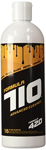 Formula 710 Advanced Cleaner Safe On Pyrex, Glass, Metal, and Ceramic by Formula 420 - Assorted Sizes (16oz - Large)