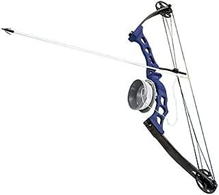 Scuba Choice Bowfishing Adult Compound Bow Archery Complete Set (Reel + Arrow), Blue