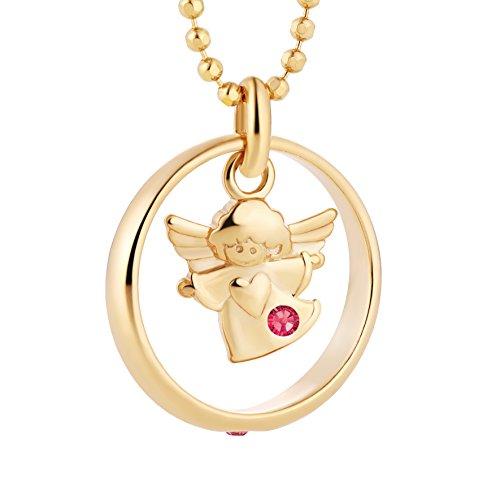 fish Mädchen Taufring Silber Gold Beschichtet Taufkette Rosa Schmucketui Geschenk zur Geburt