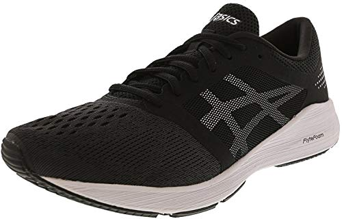 ASICS Women's Roadhawk FF, Black/Silver, 10.5 B
