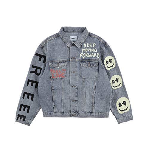 Kanye Kids See Ghosts Denim Jacket Jeansjacke Jacken, denim, XL
