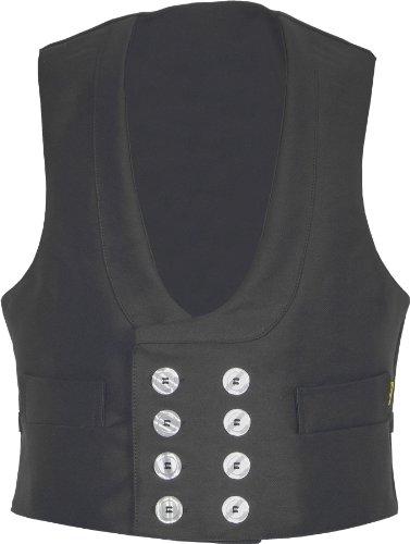 JOB Zunftweste aus Doppelpilot, Farbe schwarz, Größe 54