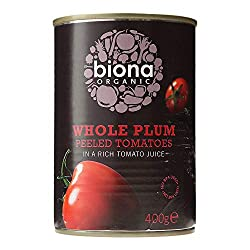 A good source of antioxidants, vitamins A and C and lycopene Simply chopped and then marinated in a rich tomato juice Contains certified organic ingredients No added salt Suitable for vegans