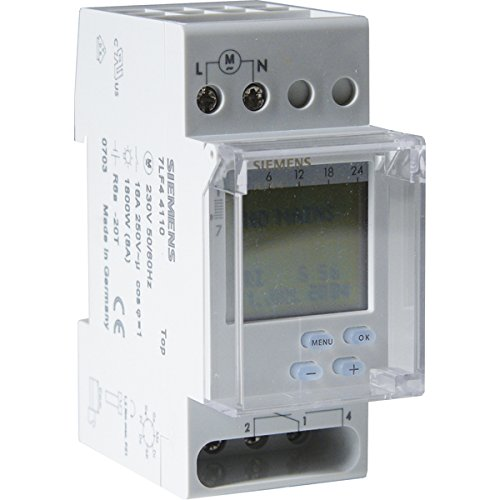 Siemens - Interruptor horario semanal TOP Digital 230V 16A 2 modulos