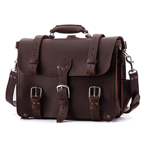 Hot Sale Saddleback Leather Classic Briefcase Large Chestnut