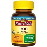 Nature Made Iron 65mg, 180 Tablets vitamin c pills May, 2021