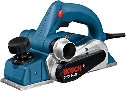 Bosch Professional GHO 26-82 D - Cepillo (710 W, rebaje 9 mm, en maletín)