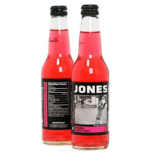 Jones Fufu Berry (12 Bottles) by Jones Soda