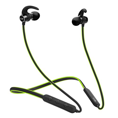 Boat Rockerz 255 Sports in-Ear Bluetooth Neckband Earphone with Mic, Neon