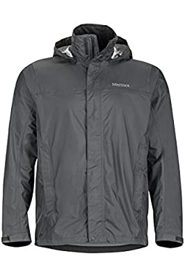 Marmot Men's Precip Lightweight Rain Jacket, Slate Gray, x Large