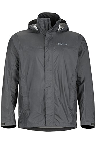 Marmot Men's Precip Lightweight Rain Jacket, Slate Gray, x Large