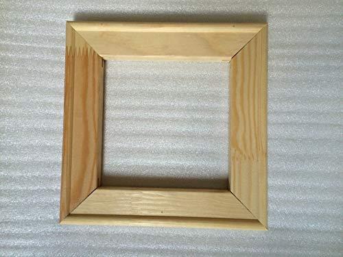 Querfarben Keilrahmenleisten   Set zum Selbstbau   DIY Holzleisten für Keilrahmen   Verschiedenen Größen (20 x 30 cm)
