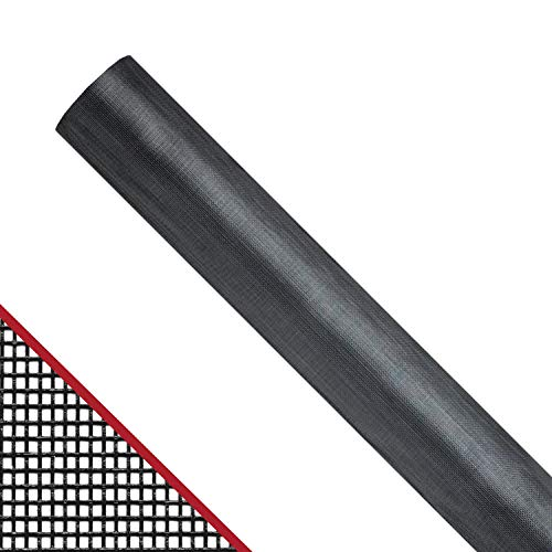 NEW YORK WIRE FCS10322-M Door/Window Screen,100 ft.x48 in.,FGL G3983546