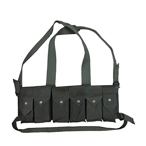 warreplica Rhodesian Fereday & Sons Chest Rig with Grenade Pocket OD Green - Reproduction