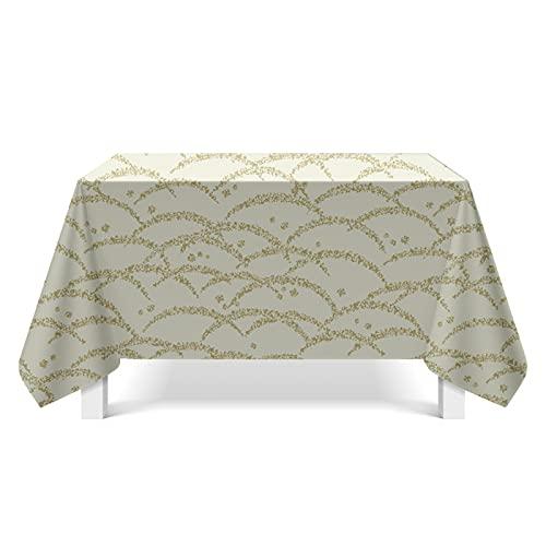 CYYyang Cubierta de Mesa de Simples Adecuado para la decoración de cocinas caseras, Varios tamaños Arte de Textura de Lienzo
