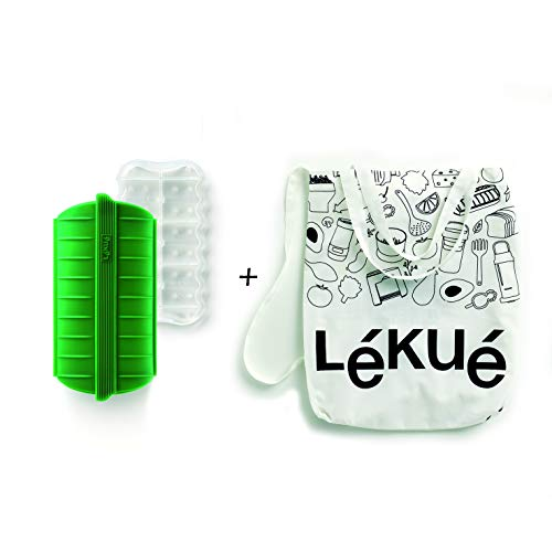 Lékué Estuche de Vapor Green Shopper Kit