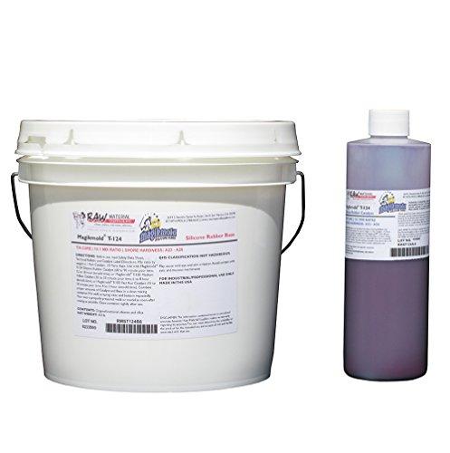 Magikmold T-124 Tin Cure Silicone 8.8 lb Kit Lavender