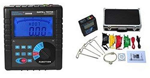 GOWE Resistance Soil Resistivity Tester electrode distance range:can be set 1m-100m