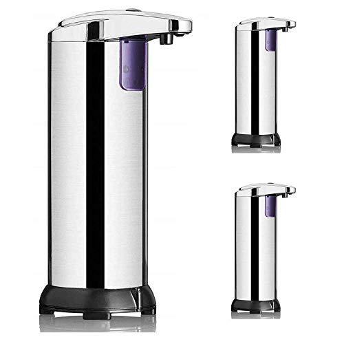 Lkaibin Dispensador de jabón automático dispensador de jabón, jabón del sensor de infrarrojos sin contacto de dispensadores de jabón líquido a prueba de agua dispensador de loción y jabón dispensadore