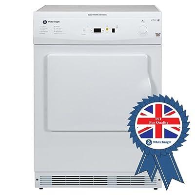 White Knight C86A7WL 7kg Sensing Vented Dryer