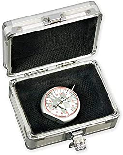 Longacre 52-50562 Dial Tread Depth Gauge with Silver Case