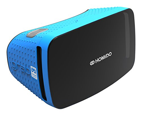 homido Virtual Reality Brille, iOS/Android, blau