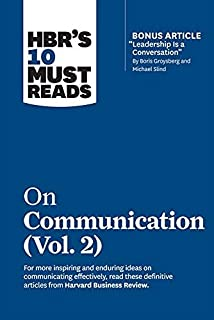 HBR's 10 Must Reads on Communication, Vol. 2 by Harvard Business Review